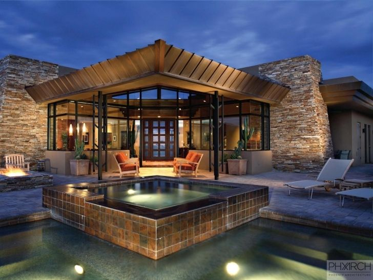Modern Mountain Home Design With Classy Modern Mountain Homes ...