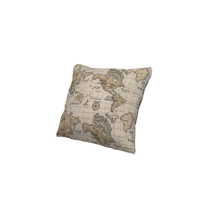 Tissu coton épais Maps