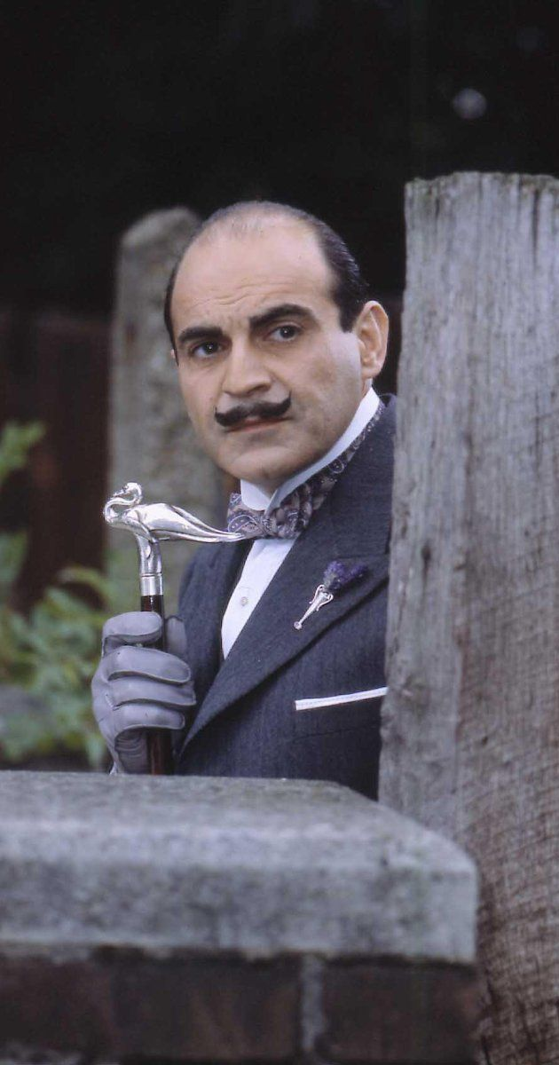 Peril at End House.  David Suchet as Hercule Poirot in Agatha Christie: Poirot (1989).