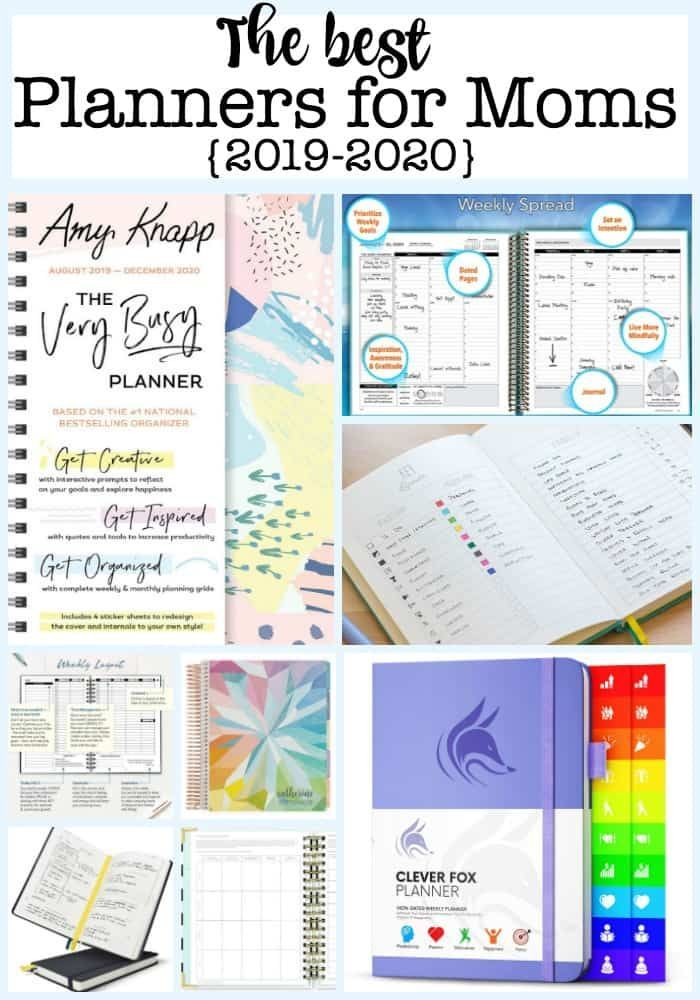 The Best Planners For Busy Moms For 2020 Best Planners For Moms
