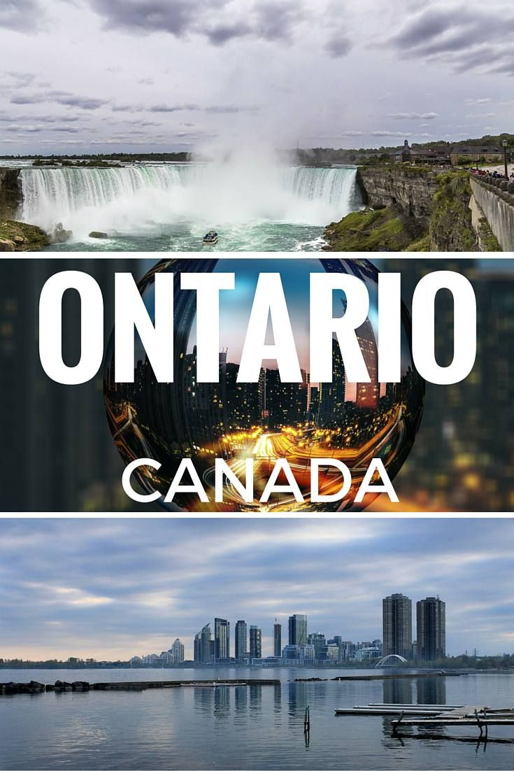 Best places to visit in Ontario, Canada - including famous sights, wine regions and more! See the full list for some wanderlust inspiration on While I'm Young travel blog. Is Ontario on your travel bucket list?