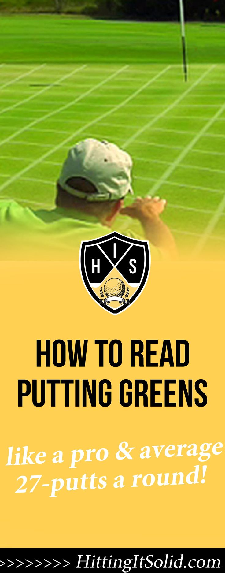 Discover how to read putting greens like a pro and average 27-putts a round and lower your scores.