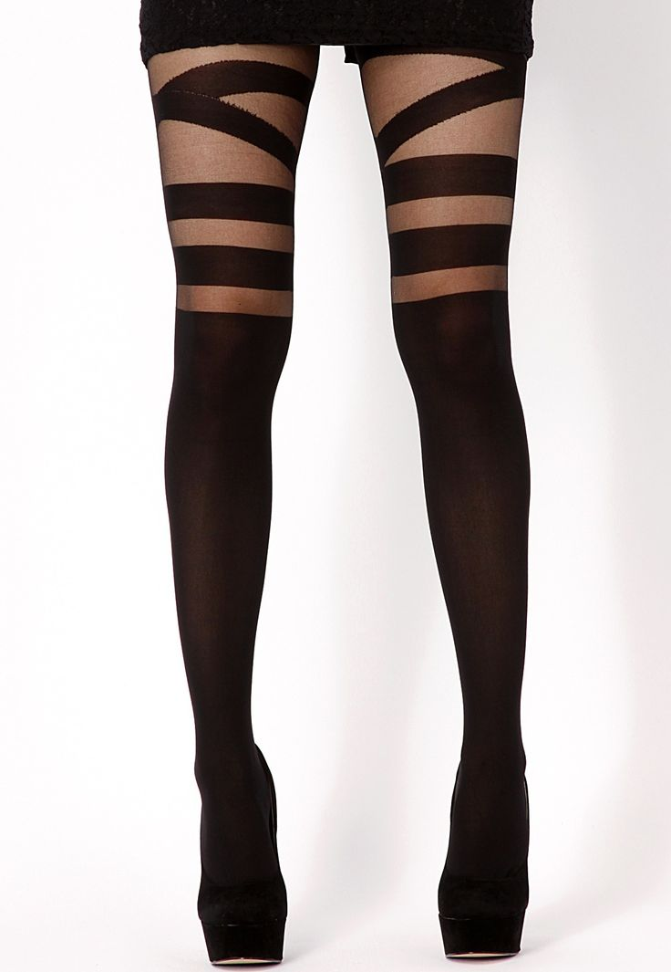 Leea V Strap Around Suspender Tights TIGHTS/ HOSIERY  Every girls 'must have' item season after season. Invest in a pair of leather look leggings for a nod to the 'grunge-rock' look or throw on a pair of patterned tights in the style of Jessie J with your favourite hotpants or LBD