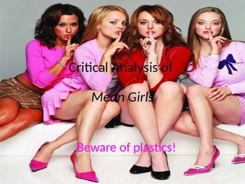 This pop culture project brings together my entire literary criticism unit: the Introduction activities, and introductory lessons on Feminist, Marxist, Psychoanalytic, and Historical criticism. The lesson includes the project directions, a rubric, a listening assessment/audience critique handout, and a sample project using the film Mean Girls. $6. Created by AmyKH. Purchase my entire Introduction to Literary Criticism Unit for $25 (a savings of $5 over purchasing individually).