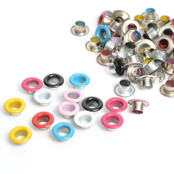 100pcs Scrapbook Eyelet Random Mixed Color Metal eyelets For Scrapbooking DIY embelishment garment clothes eyelets-in Garment Eyelets from Home & Garden on Aliexpress.com   Alibaba Group
