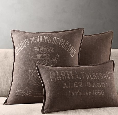 Throw Pillows Rust : 24 best images about Steampunk Bedroom on Pinterest Hanging beds, Restoration hardware bedroom ...
