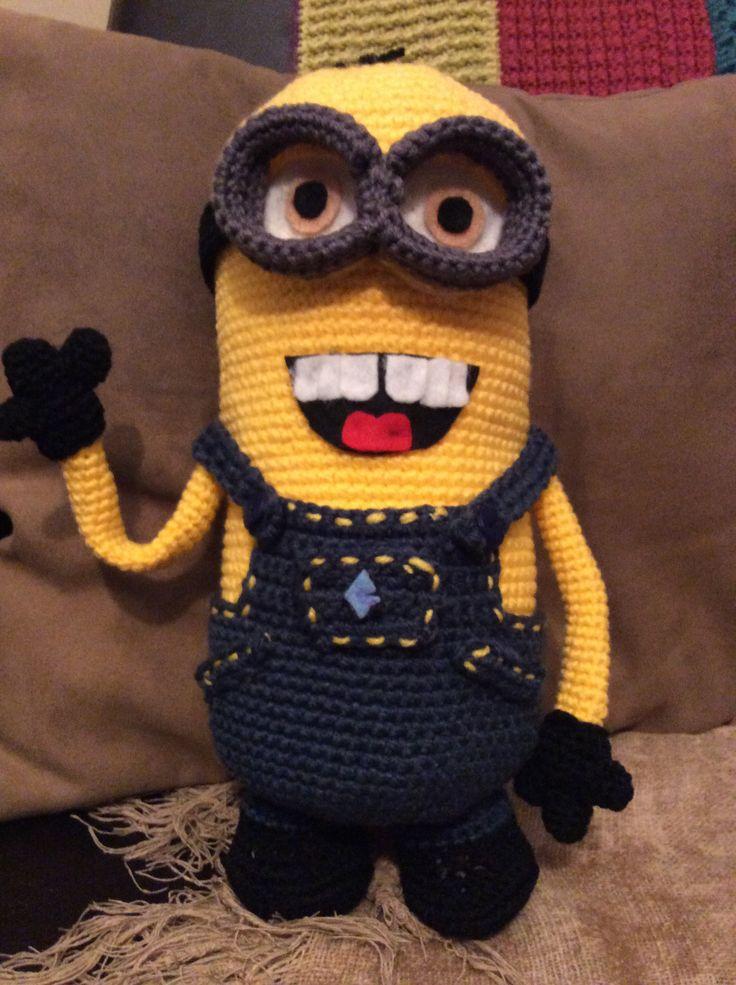 310 besten Crochet - Despicable Me Bilder auf Pinterest | Kreuzstich ...