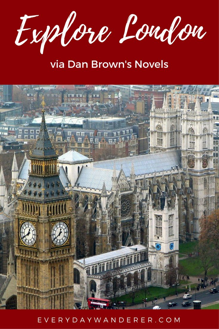 18 places to explore via Dan Brown's thrilling novels #Europe #England #London #Travel