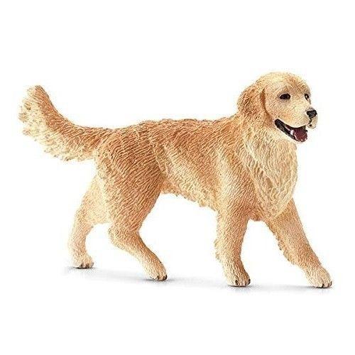 Female Golden Retriever Figurine Dog Statue Toy Home Decor Decor Animal Statues #FemaleGoldenRetrieverFigurine
