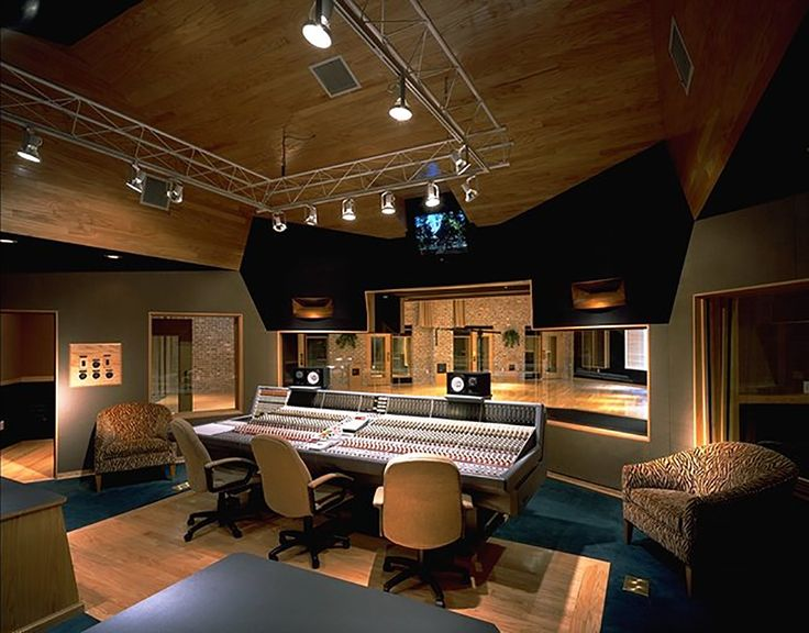 76 best recording studio design images on pinterest for Music recording studio layout