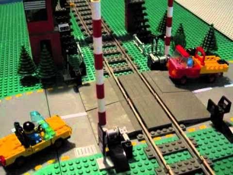 Lego Train Crossing