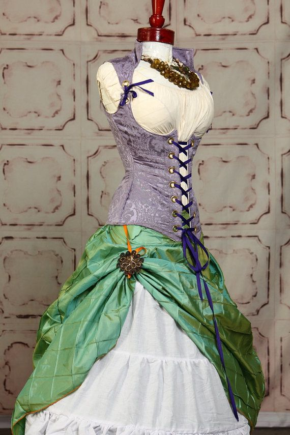 Mermaid Teal Pintuck Swagger Skirt by damselinthisdress on Etsy, $55.00