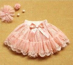 Детская нарядная пышная юбка с бантом - 450 руб