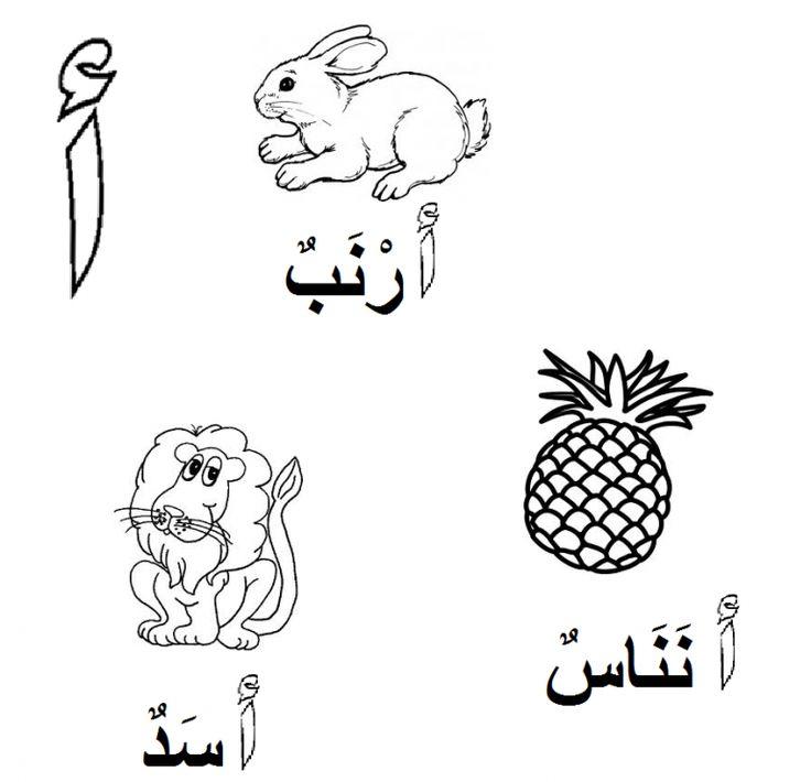 25 best ideas about Arabic alphabet for kids on Pinterest ...