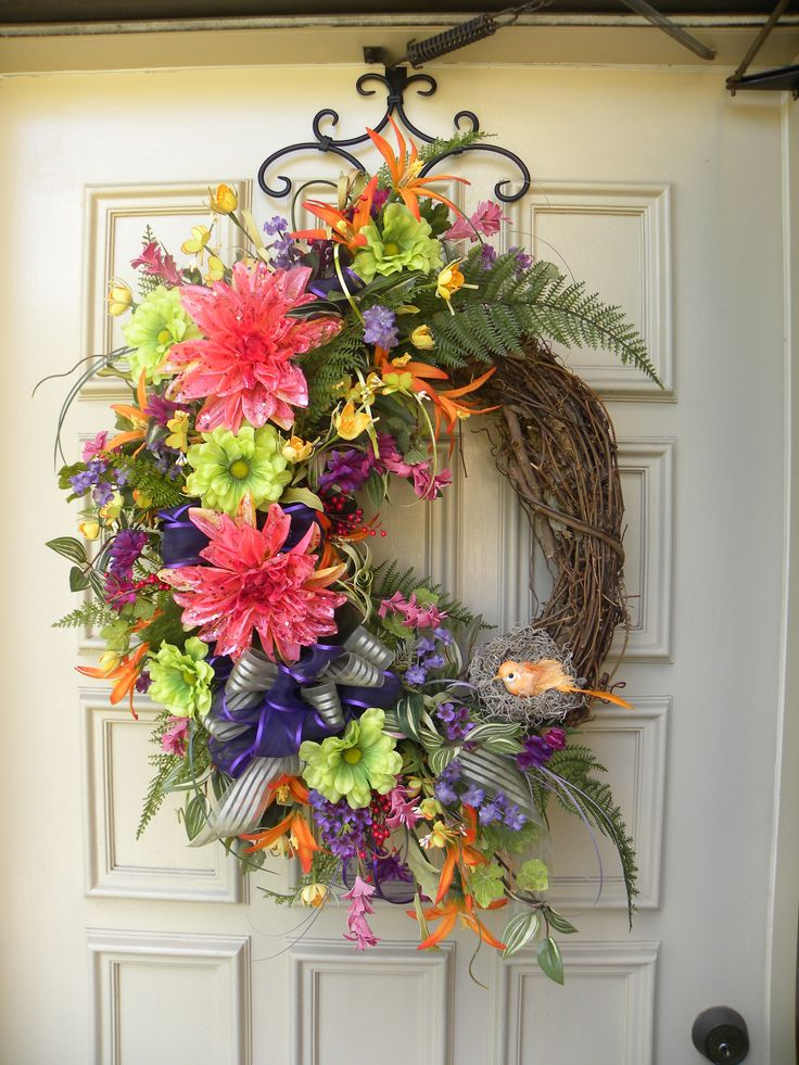 Grapevine Door Wreath