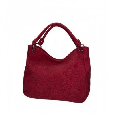 Azadé red shoulder bag