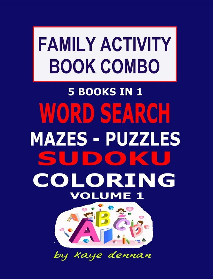 5 Books in 1 for Family entertainment...families that play together stay together...