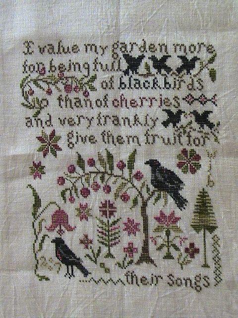 """Their Song"" Blackbird Designs"
