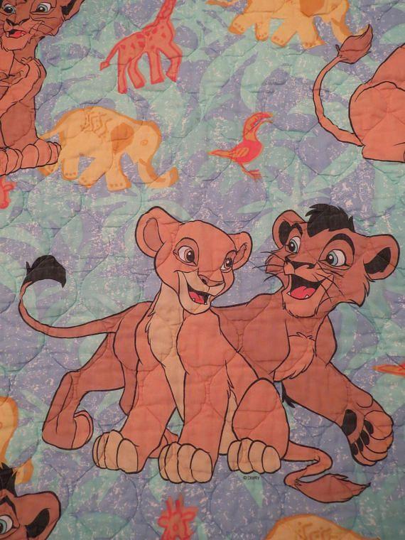 Lion King Toddler comforter