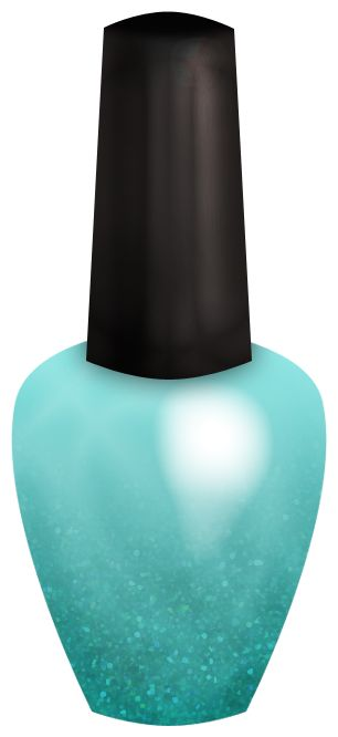 nail polish clipart vector free - photo #42