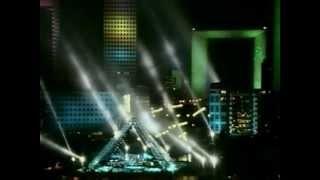 Jean Michel Jarre - Paris La Defense A City In Concert (VHS Full Show), via YouTube.