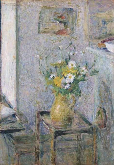 Edouard Vuillard, Pot de gres et fleurs