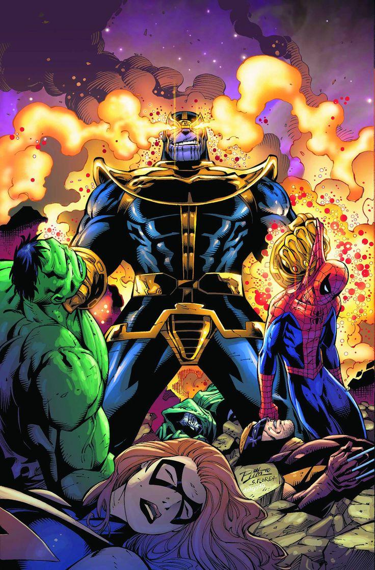 Thanos: Books Art, Marvel Univ, Marvel Comic, Comic Books, Infinity Gauntlet, Mine Marvel, Super Heroes, The Avengers, Superhero