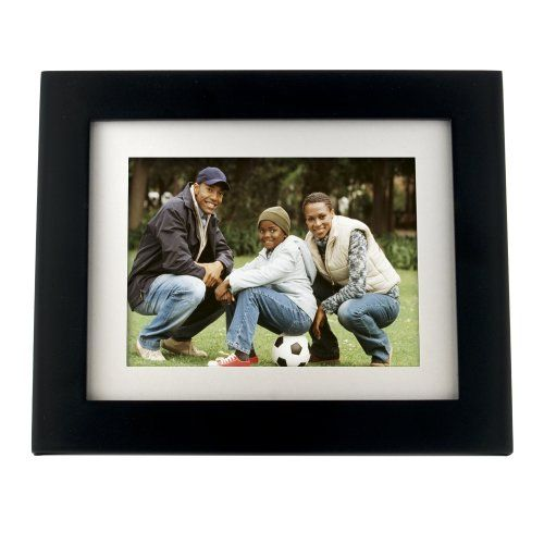 pandigital panimage pi8004w01b 8 inch led digital photo frame black