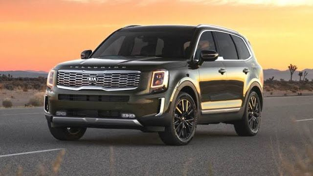 World Car Of The Year 2020 Kia Telluride In 2020 Mid Size Suv Suv Cars New Suv