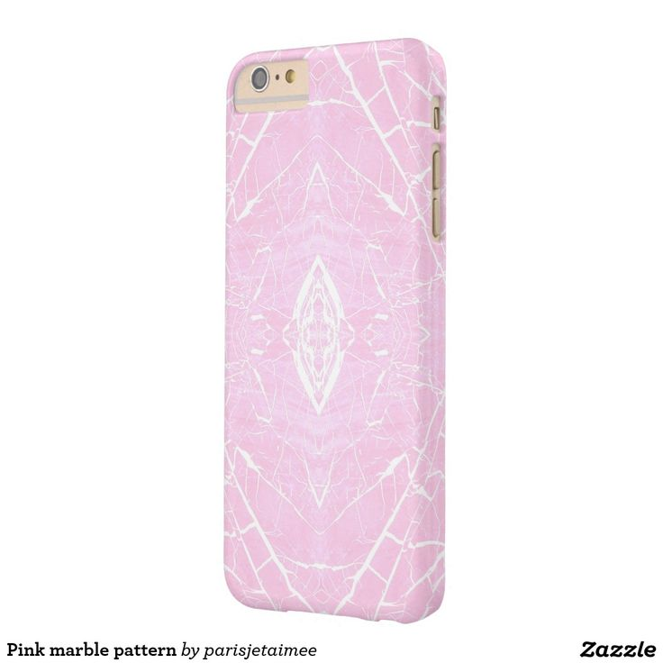 #Pinkmarblepattern #pinkmarble #girlypattern #trendypattern  Pink marble pattern barely there iPhone 6 plus case