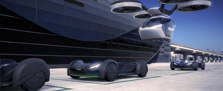 Pop up un progetto che integra una capsula due posti grande quanto una Smart e un mega-drone con 8 rotori. Un veicolo elettrico alla Blade Runner che si adatta al percorso e sceglie con una app se alzarsi in cielo o muoversi su strada -   Video   -   Foto