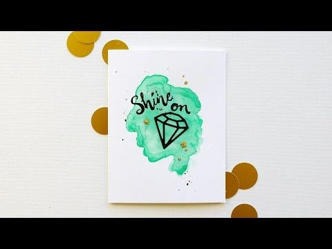 """Hello, Monday 02.04.2015 --on a Wednesday! :) - the CLASSroom...Video 4:43min The glossy sheen on the die cut """"rock"""" is a great way to simulate those fun epoxy stickers--I just love how many different ways we can use dies! Emily's video is where the fun begins,"""