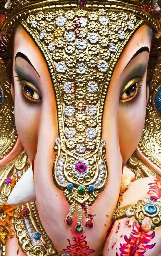 Ganesha eyes & trunk by Isha Varshney