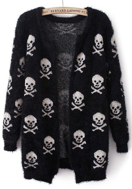 http://www.cichic.com/black-skull-print-long-sleeve-wrap-acrylic-cardigan.html