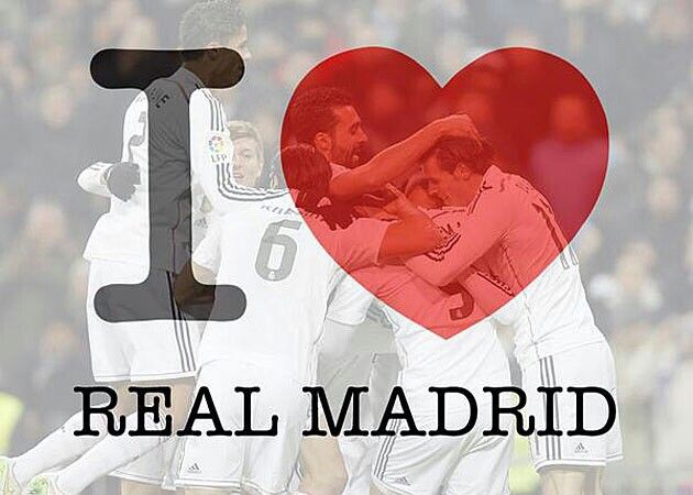 I always will love the real Madrid<3 forever <3 whatever when the play or…