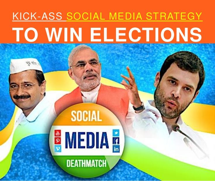 Kick ass social media strategy to win elections by Simplify360 via slideshare