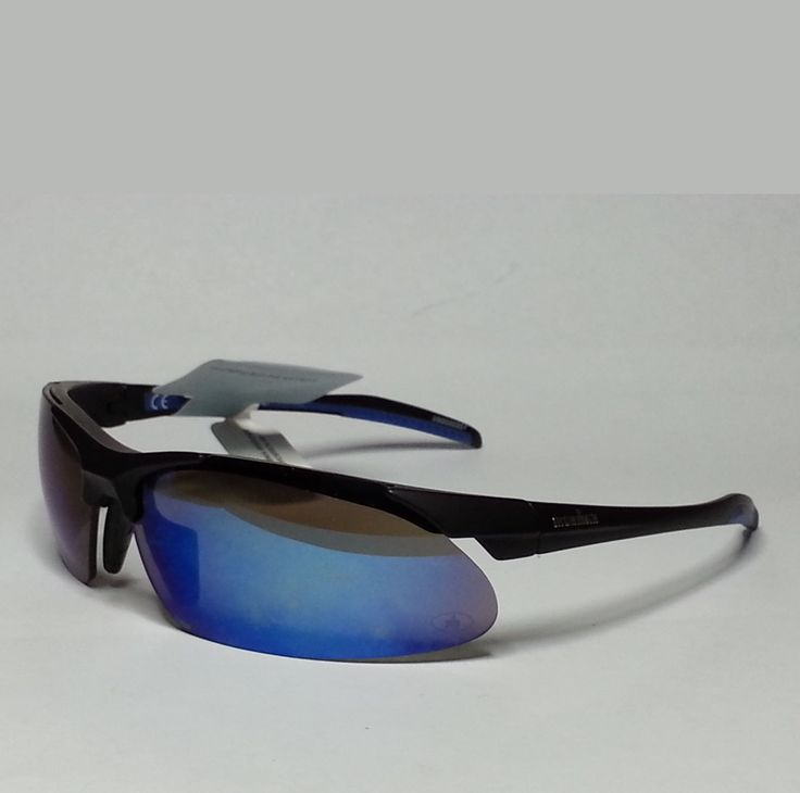 #Ironman Inertia Blue RV men's sport sunglasses impact resistant lens wrap style visit our ebay store at  http://stores.ebay.com/esquirestore