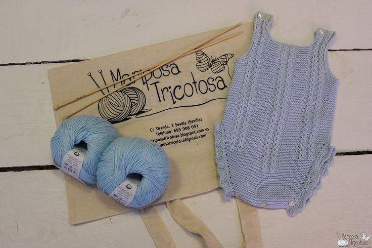 Nuevo kit de varano para bebé: pelele de algodón con ochos.