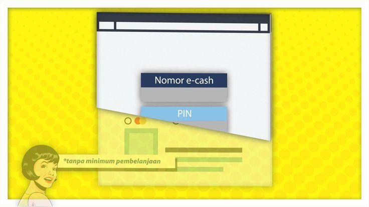 Tutorial Mandiri e-cash, belanja online pakai Mandiri e-cash. www.mandiriecash.co.id