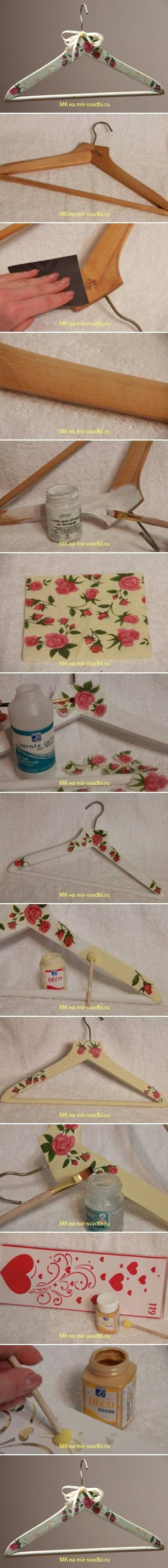 DIY Hanger Decoupage DIY Projects | UsefulDIY.com