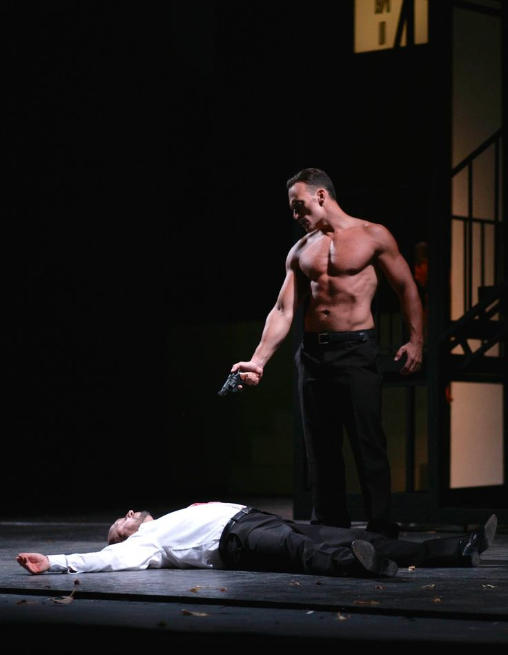 Gianluca Margheri as Don Giovanni in Mozart's Don Giovanni, Ente Luglio Musicale Trapanese 2015