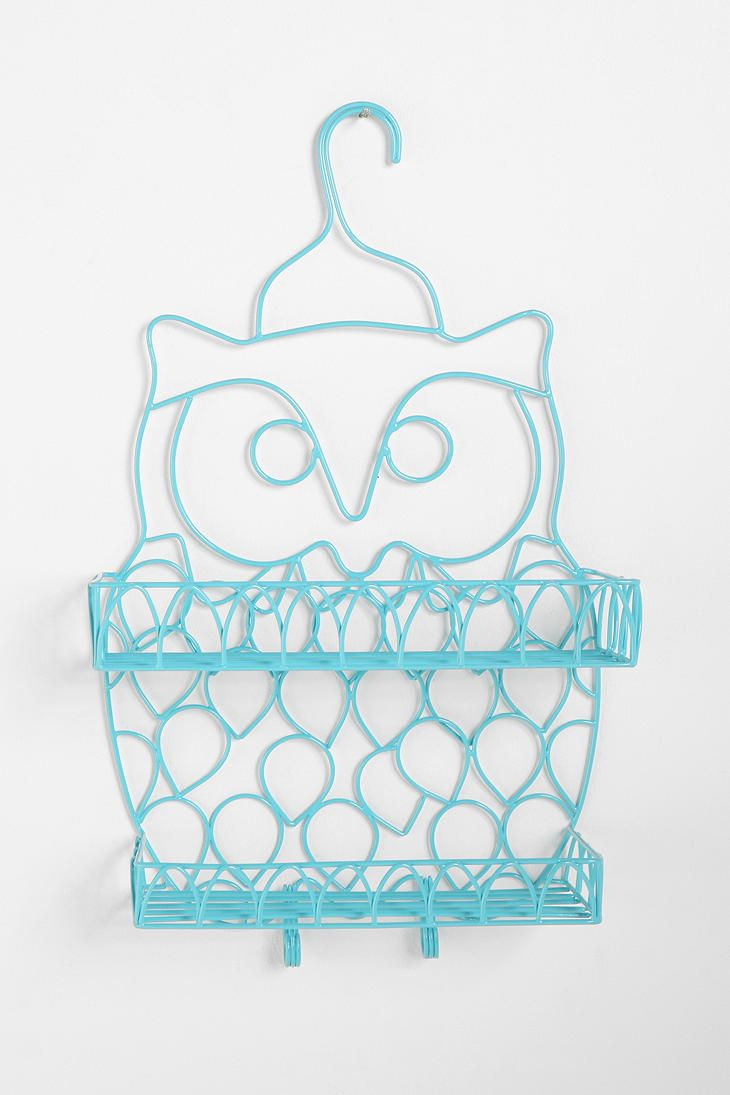 Owl Shower Caddy for my Owl obsession. Wish it came in pink.