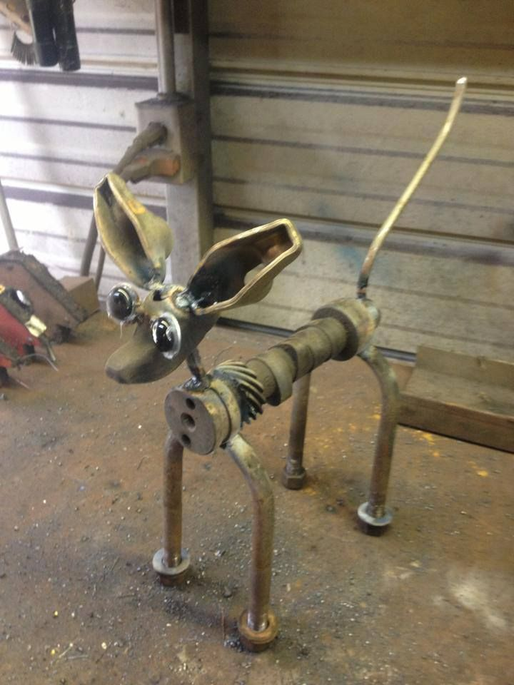 334 best images about welding jobs on pinterest railroad for Dog wire art