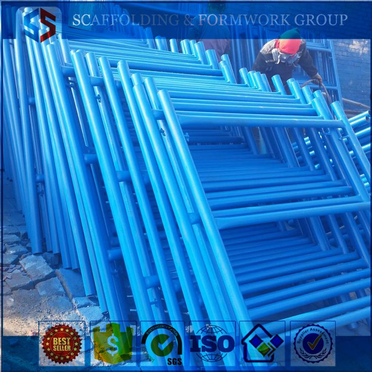 Painted Frame scaffold used steel buildings for sale#scaffolding