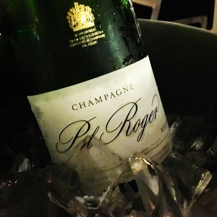 Pol Roger Champagne is always a classic.