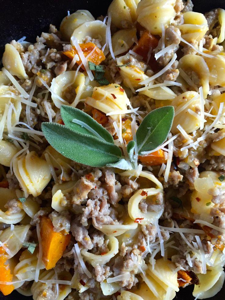 Butternut Squash Pasta | Recipe | Butternut Squash Pasta, Butternut ...