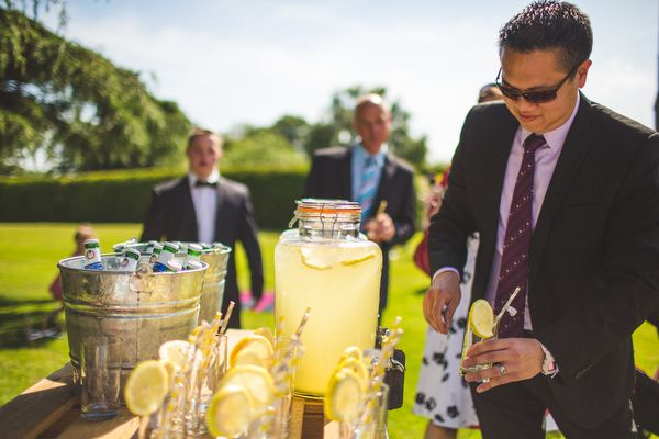English Country Garden Downton Abbey Wedding Drinks http://www.s6photography.co.uk/
