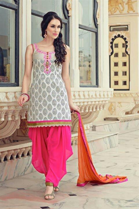 Punjabi suit w/ patiala salwar