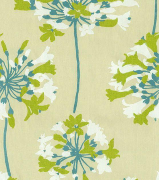 shop home decor print fabric waverly sparkler citrine