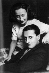 Dinu and Madeleine Lipatti- In 1947 he was diagnosed with Hodgkin's disease. He and Madeleine eventually married in 1947 but Lipatti's health continued to decline. As a result, his public performances became considerably less frequent after the war. His energy level was improved for a time by then experimental injections of cortisone and his collaboration with record producer Walter Legge between 1947 and 1950 resulted in the majority of the recordings of Lipatti's playing.